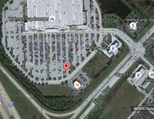 PRAS North Carpool Location